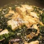 簡単レシピ#3サバ缶とワカメの炒め物