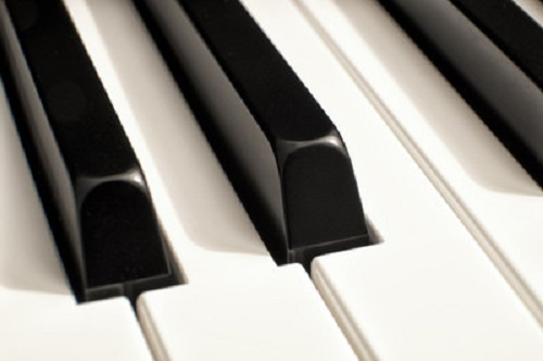 XB, horizontal, black, white, music, piano, keys, musical, instrument, play, sound, song, classical, note